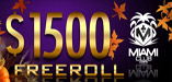 $1,500 Slots Freeroll at Miami Club Casino