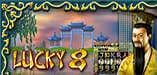 Brand New Slot 'Lucky 8' at Desert Nights Casino