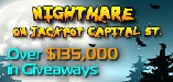 The Nightmare on Jackpot Capital St $30K Weekly Giveaway