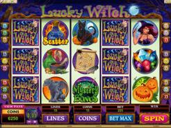 Play Lucky Witch Slots now!