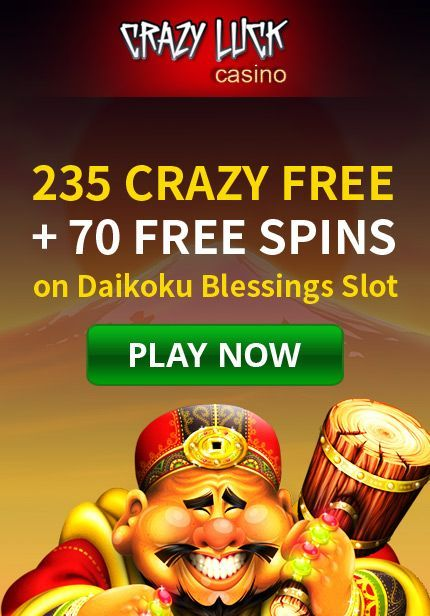 Crazy Surprise Bonuses and More at Crazy Luck