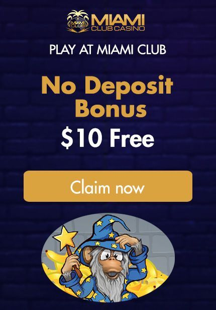 Awesome April Promo's at Miami Club Casino
