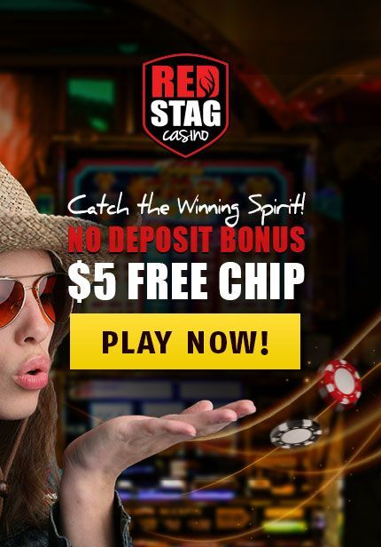 Fill Up With A Free Red Stag Casino $5 No Deposit Bonus