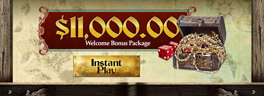 $100 Cash for New Players at Captain Jack Casino